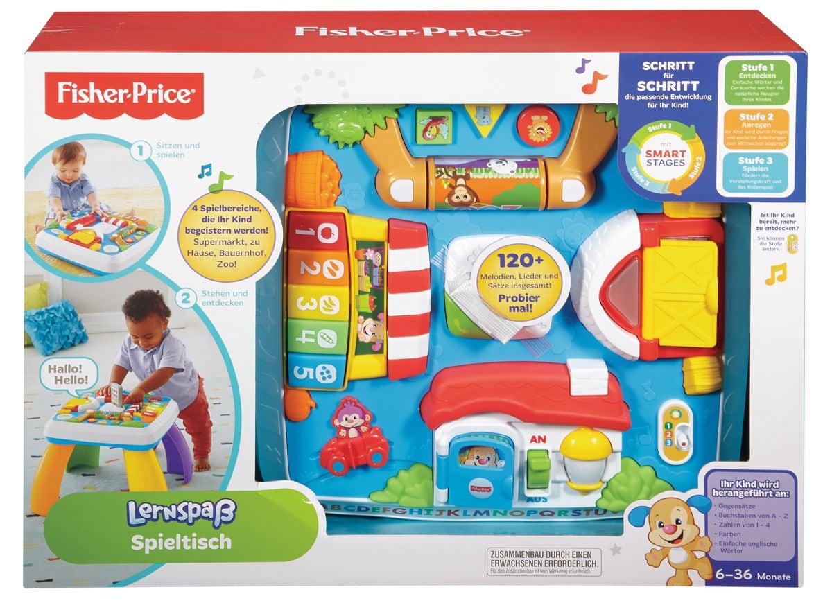 Fisher-Price Lernspass Spieltisch (D)