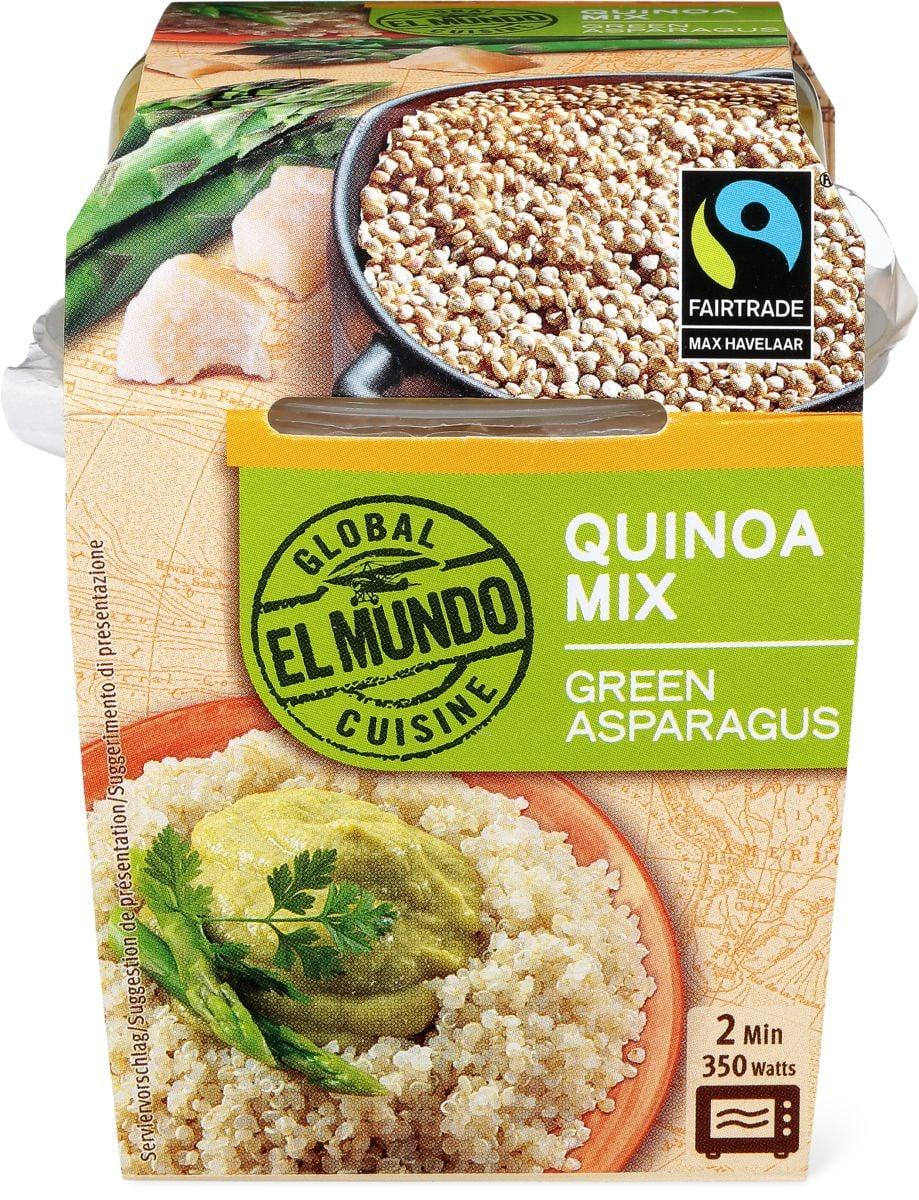 El Mundo Max Hav Quinoa asperges