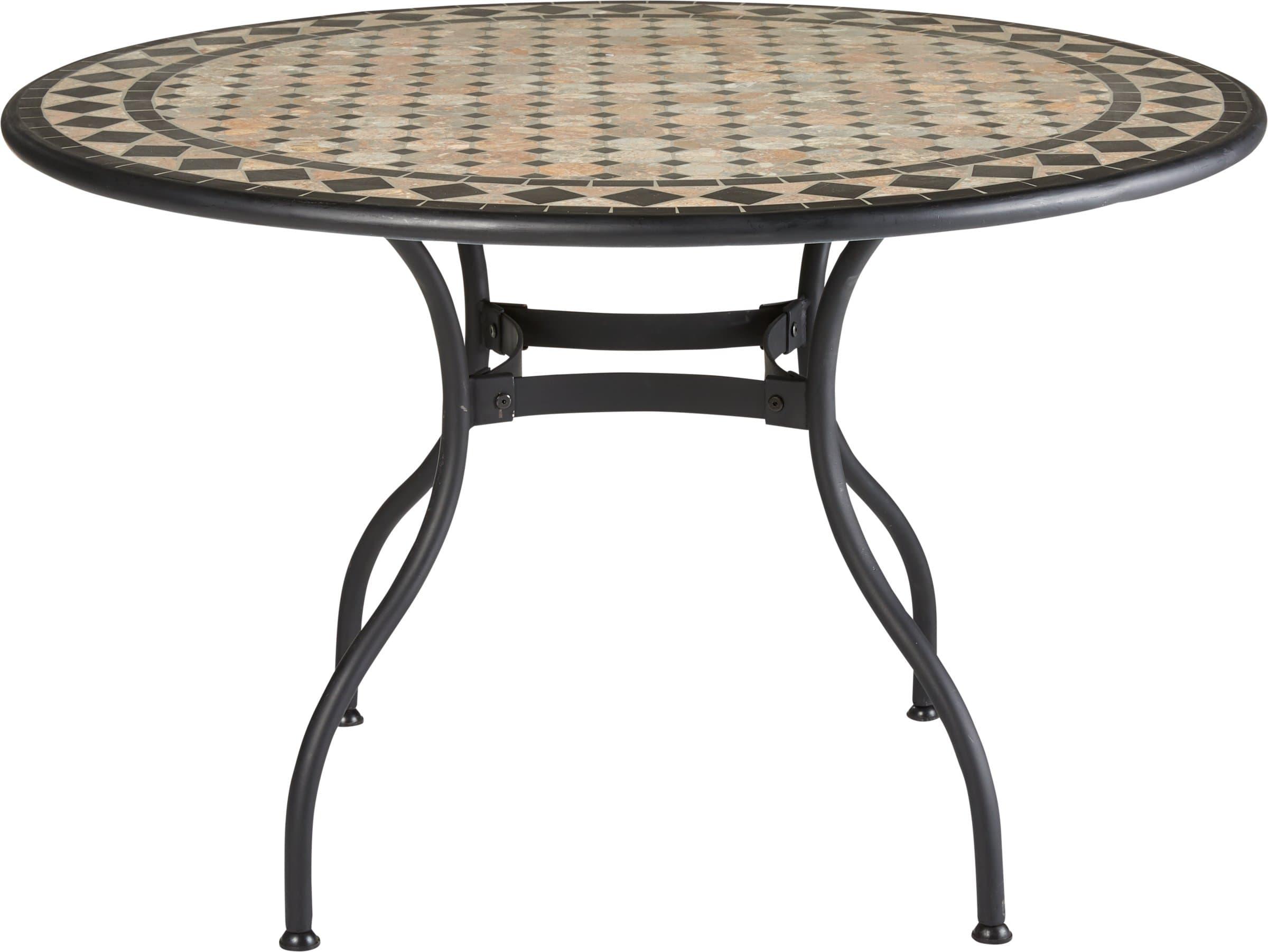 Table en mosaïque RONDA, Ø 120 cm