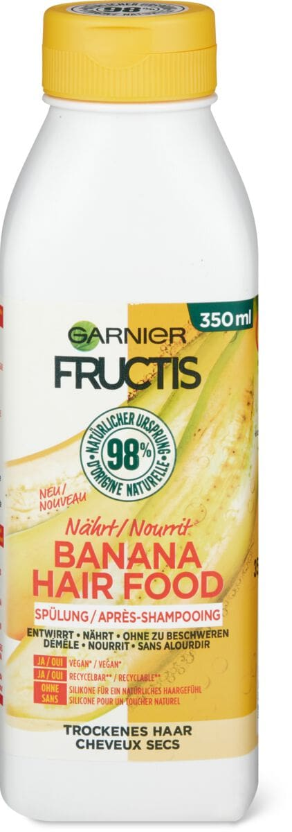 Garnier Fructis Hair Food Banana après-shampooing