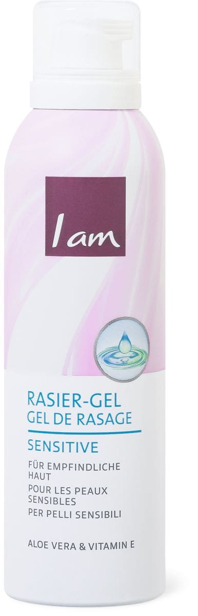 I am gel da rasatura Sensitive