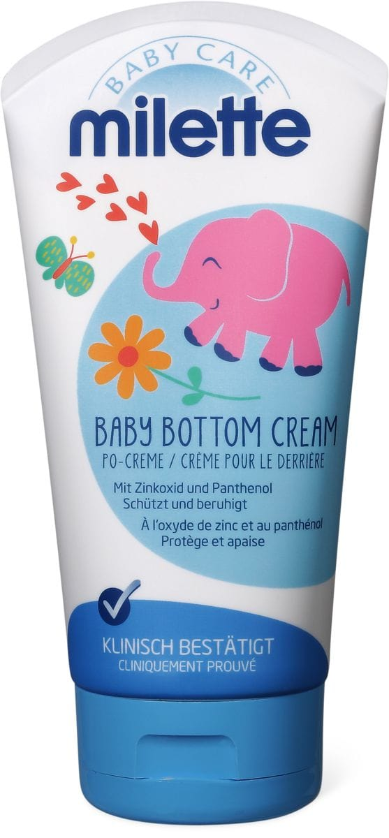 Milette Baby Crème pour le derrière