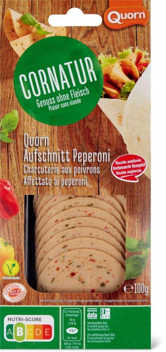 Cornatur Quorn affettato peperoni