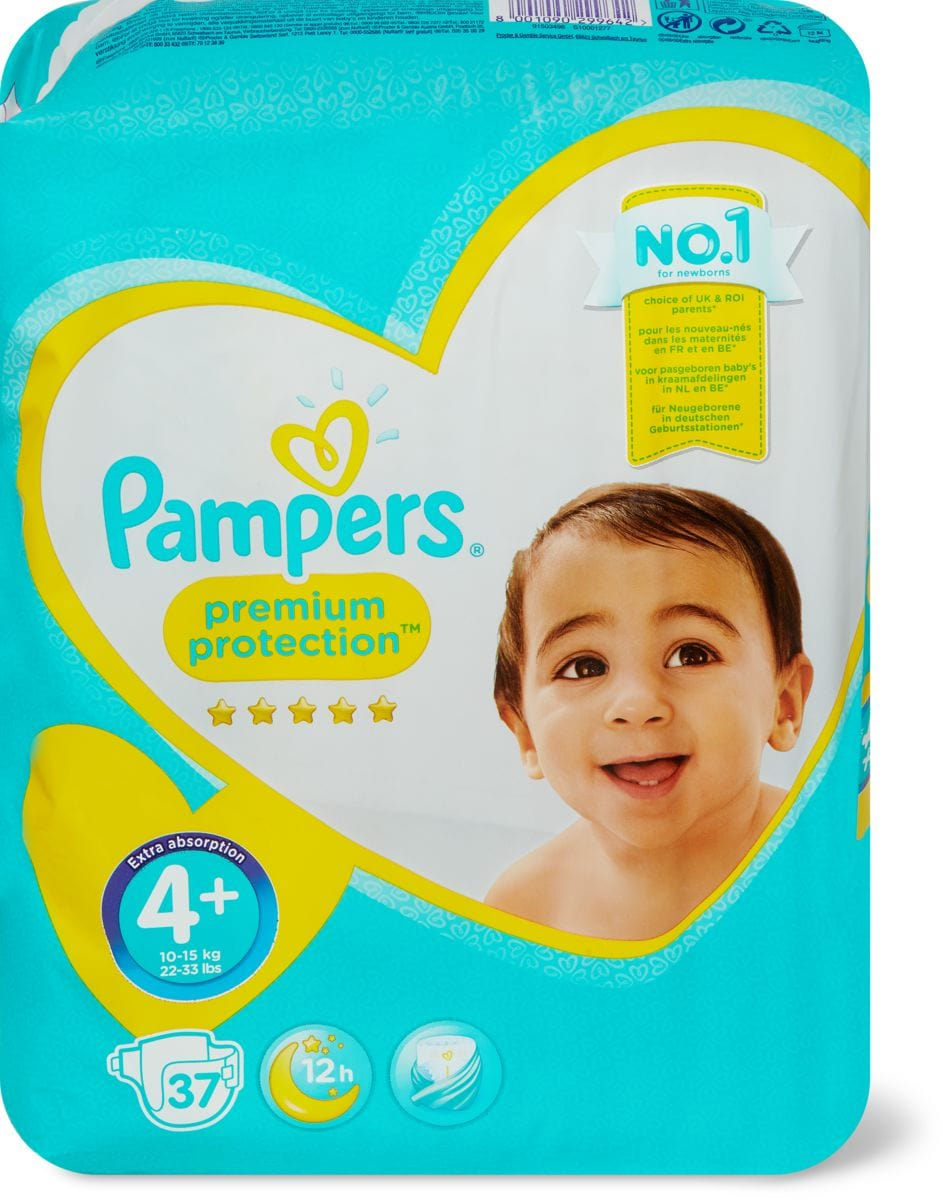 Pampers Premium Protection Maxi 4+