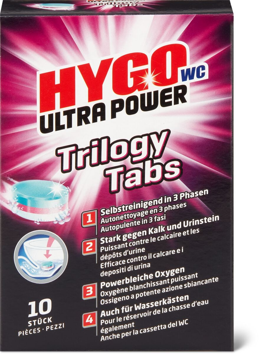Hygo WC Maximum Power Tabs