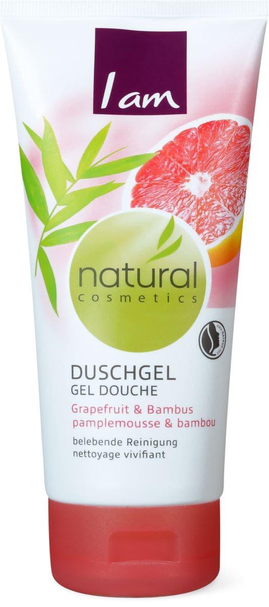 I am Natural Cosmetics doccia pompelome&bambù