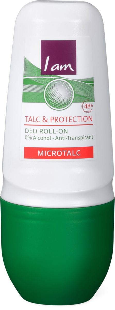 I am Deo Roll-on Talc Protection