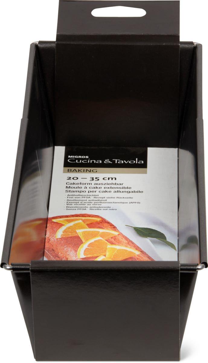 Cucina & Tavola Moule cake extensible, 20-35cm