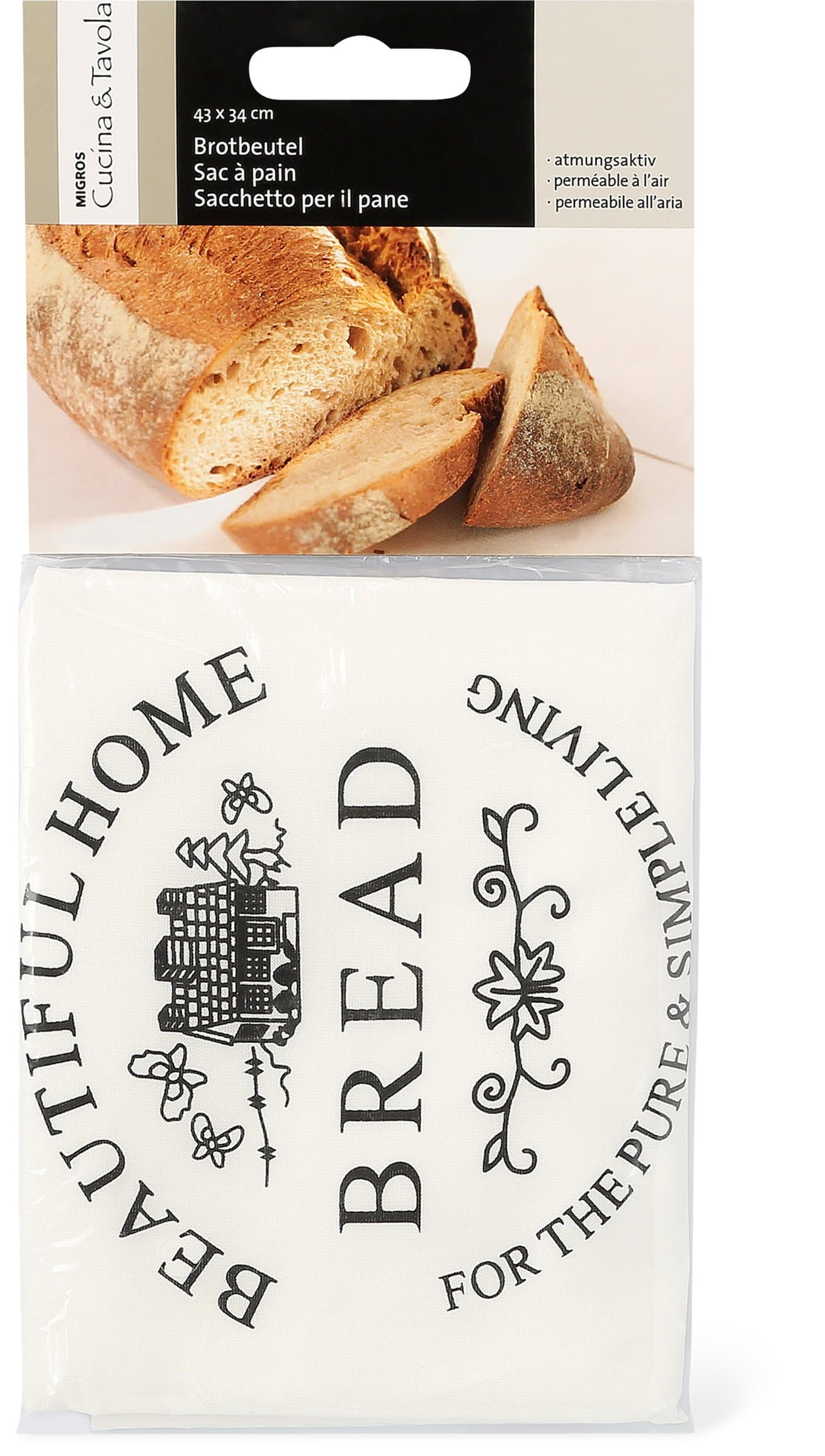 Cucina & Tavola Sac à pain