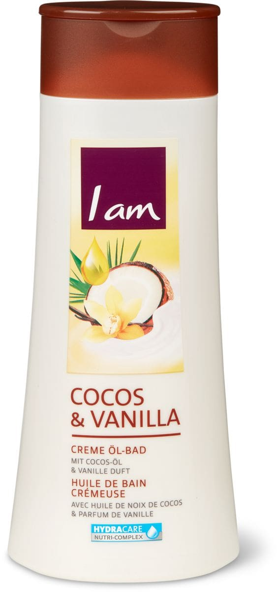 I am Creme Öl-Bad Cocos & Vanilla
