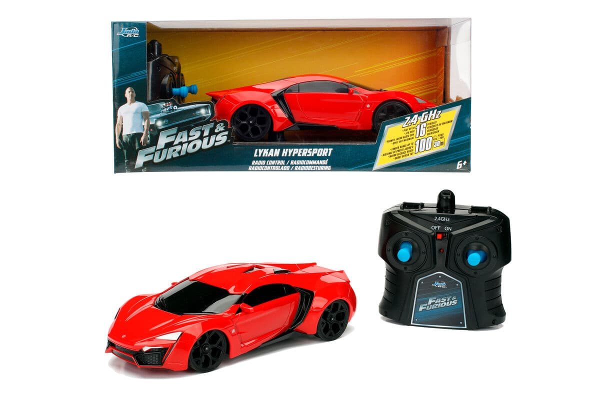 Dickie Toys Fast&Furious RC Lykan Hypersport Giocattoli telecomandati