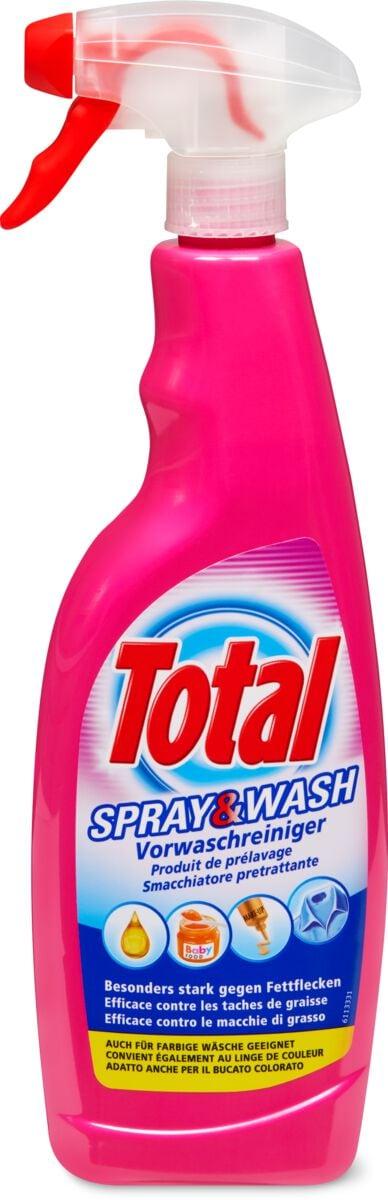Total Vaporisateur Spray & Wash