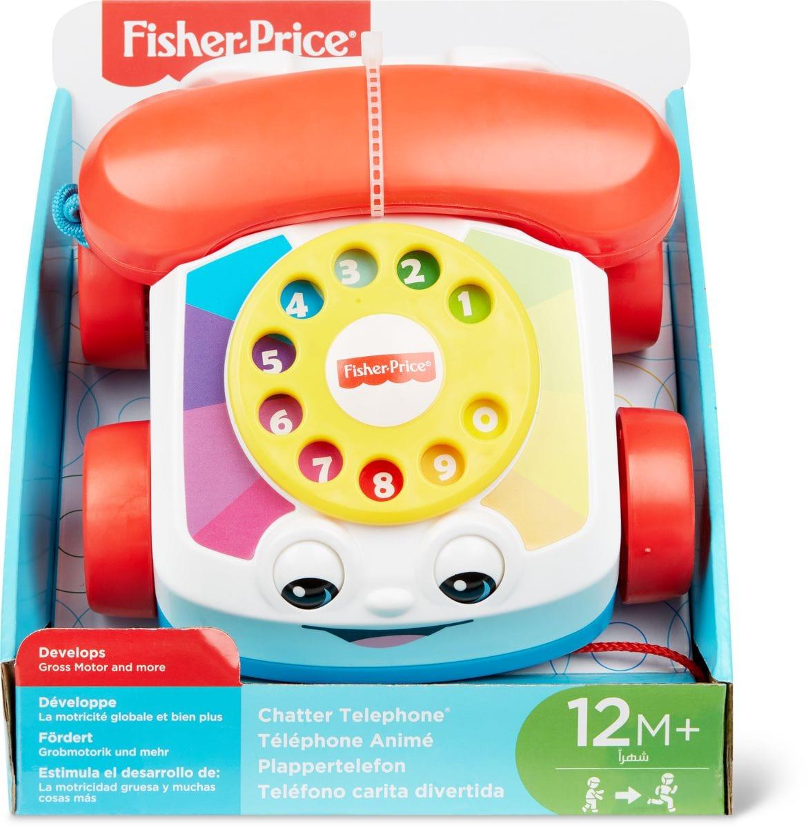 Fisher-Price Plappertelefon Lernspiel