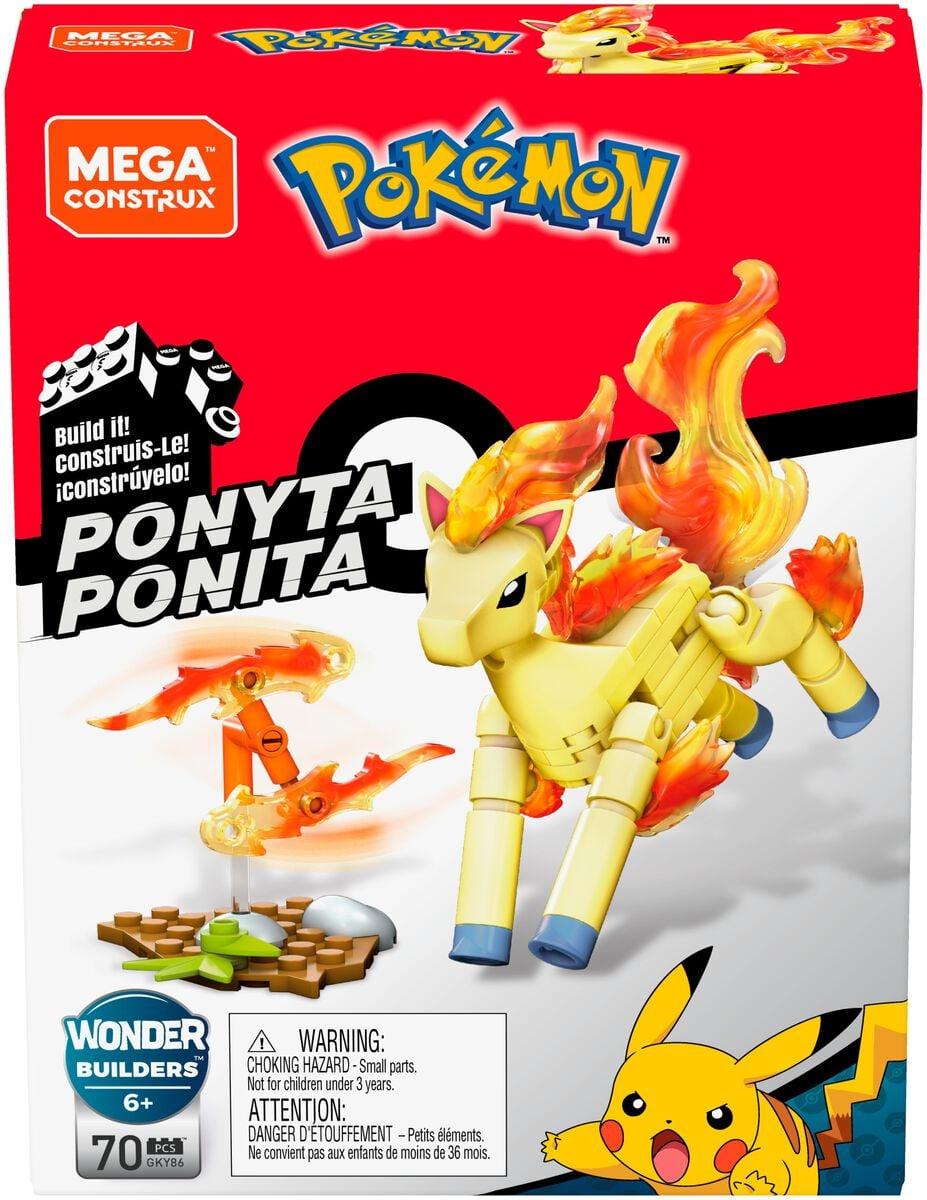 Pokémon Mega Construx  GKY86 PONITA Spielfigur