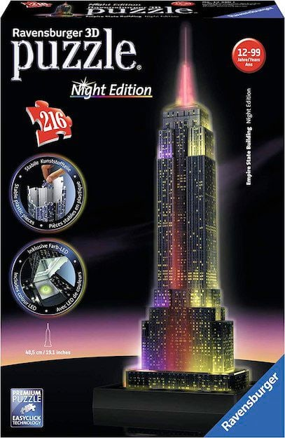 Ravensburger Empire State Building Bei Nacht Puzzle