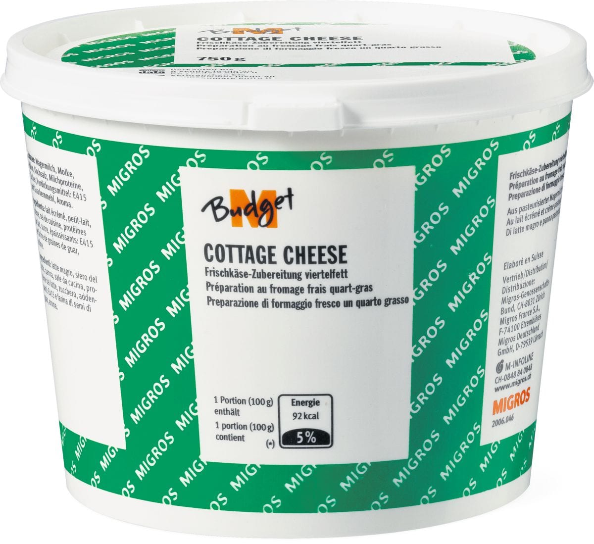 M-Budget Cottage Cheese