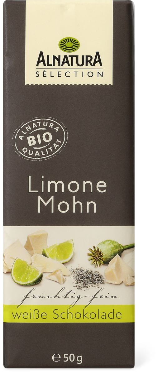 Alnatura Limone Mohn