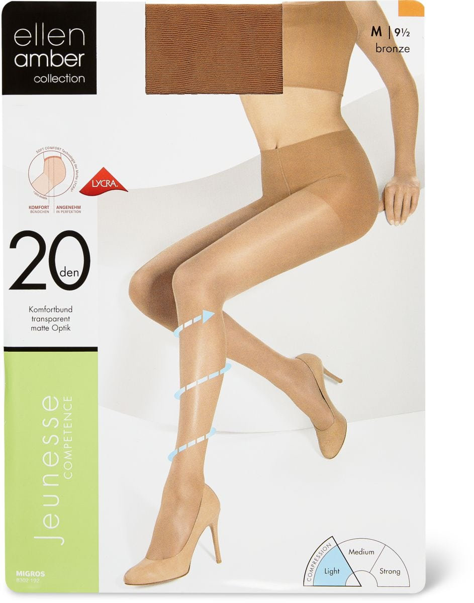 Ellen Amber Collants Da Donna Jeunesse