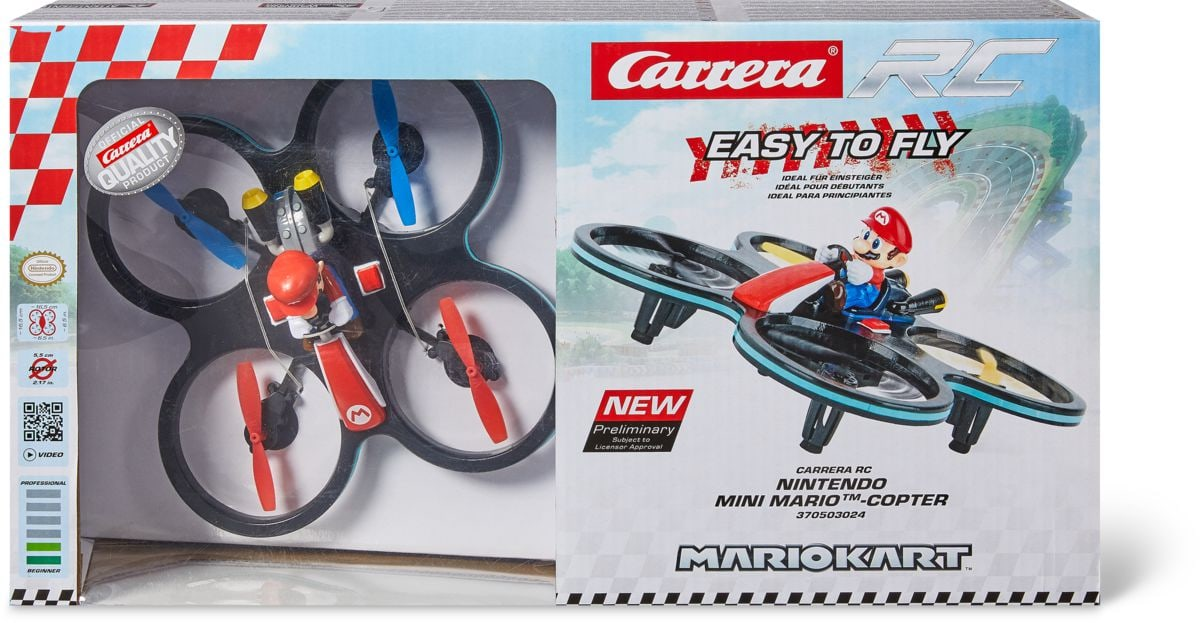 Carrera Rc Mini Mario Copter