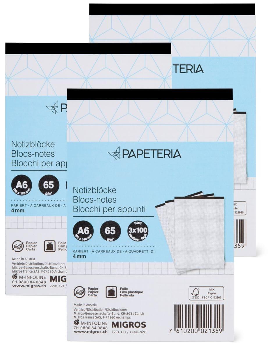 Papeteria A6 Blocs-notes