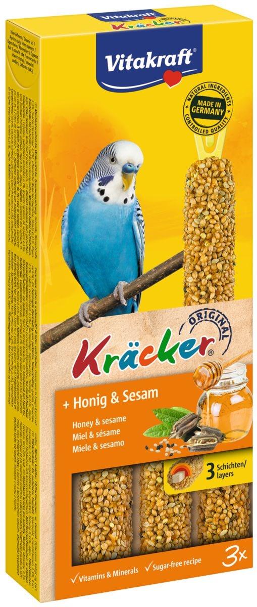 Kräcker Honig&Sesam, Sittich