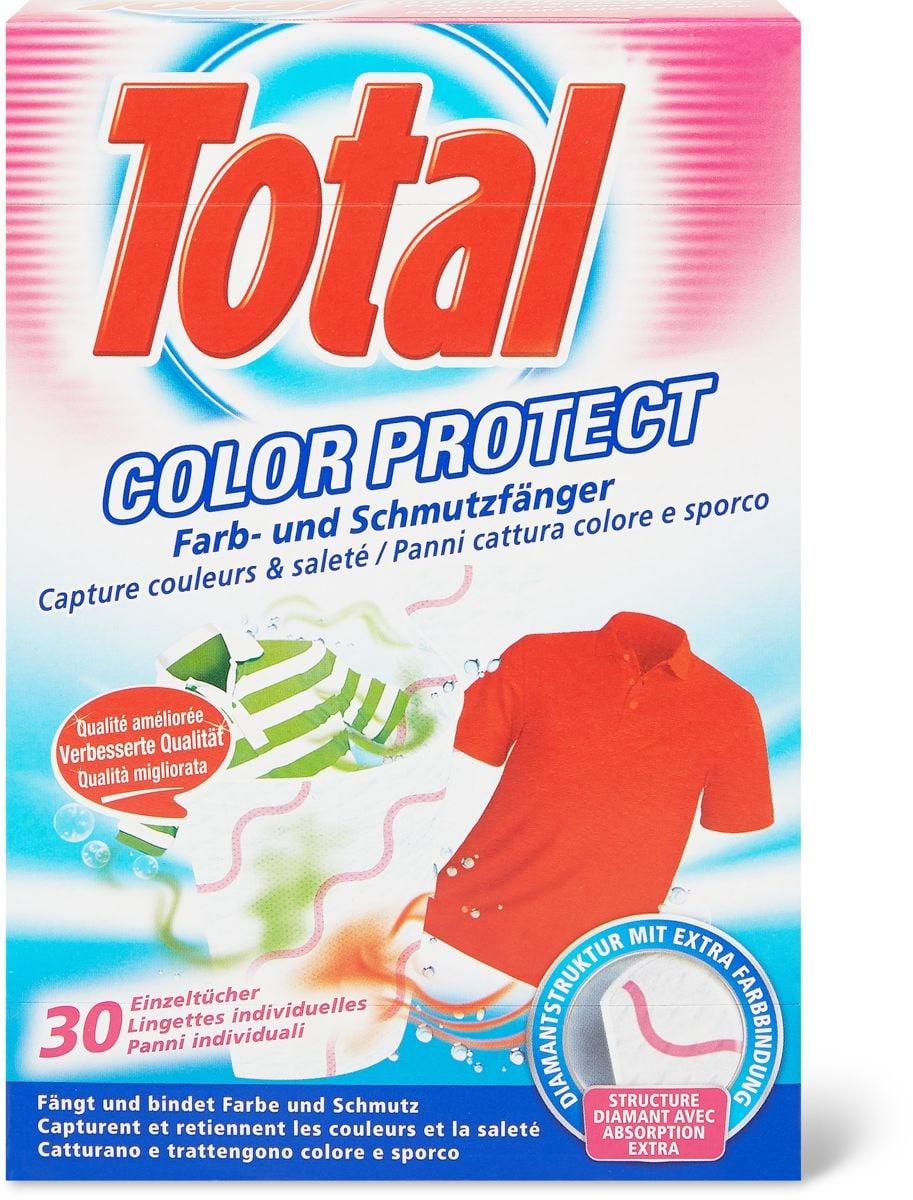 Total Lingettes individuelles Color Protect