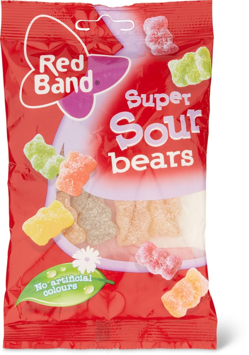 Red Band Sour bears