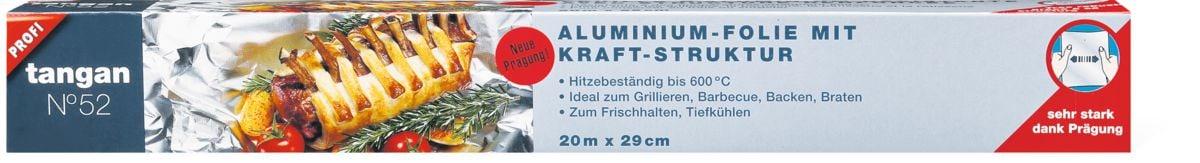 Tangan N°52 Aluminium-Folie Kraft-Struktur