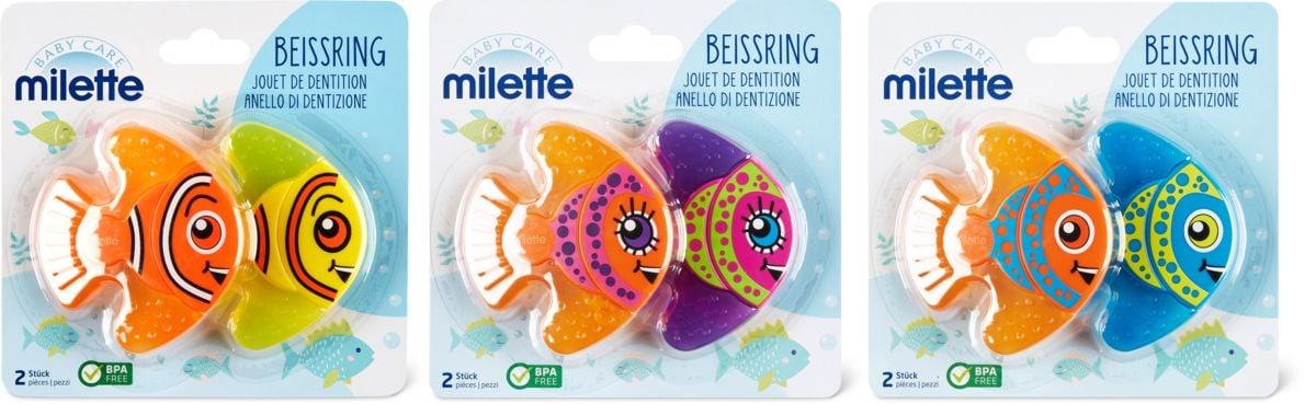 Milette Beissring, 2 Stück
