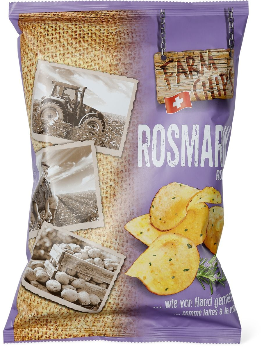 Farm Chips Romarin