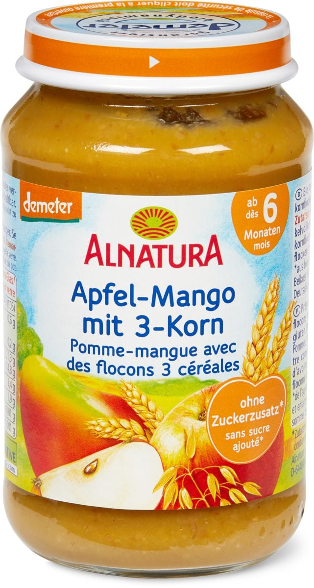 Alnatura Apfel Mango 3-Korn