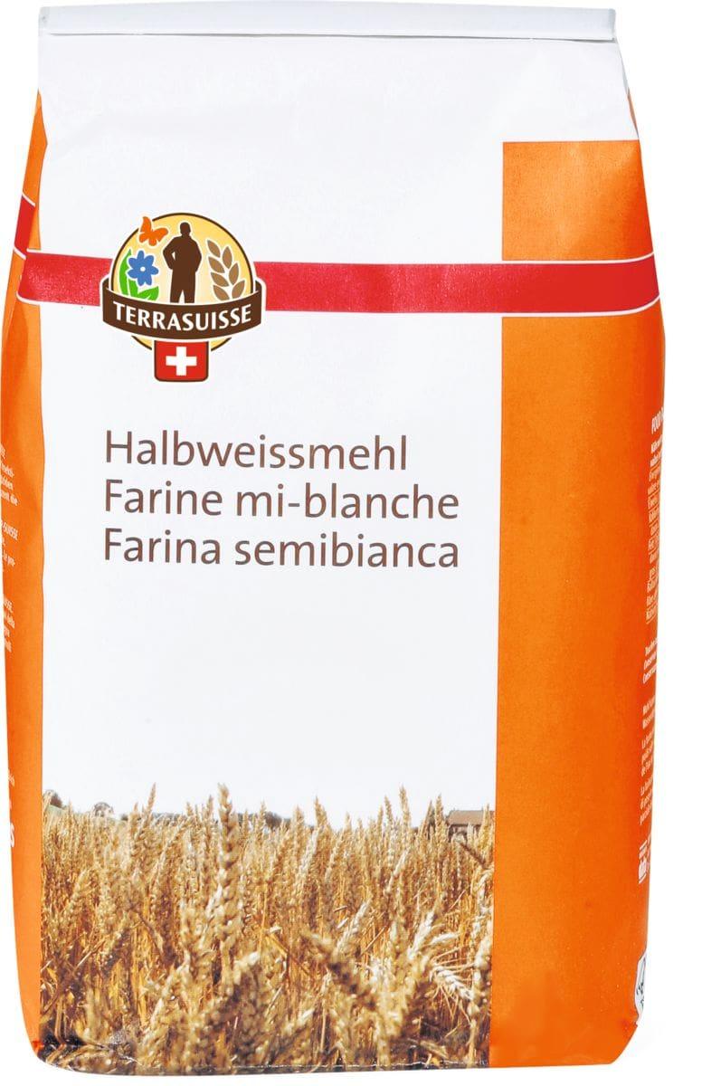 Terrasuisse Halbweiss-Mehl