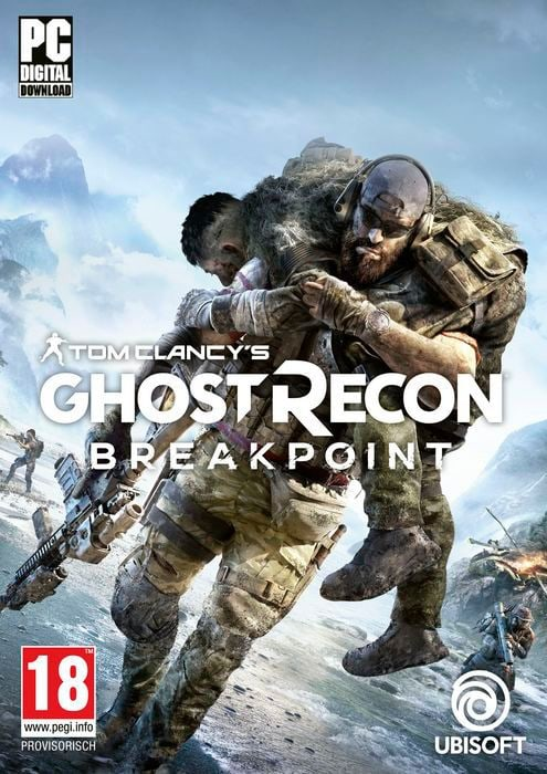PC - Tom Clancy's Ghost Recon: Breakpoint Box