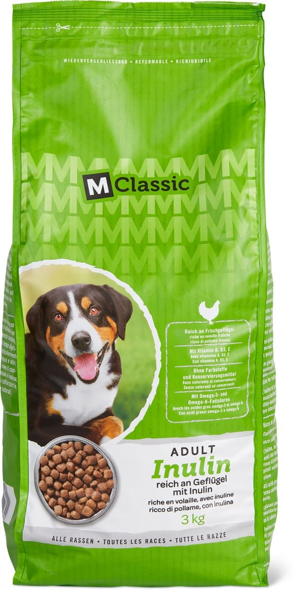 M-Classic aliment Chien inulin