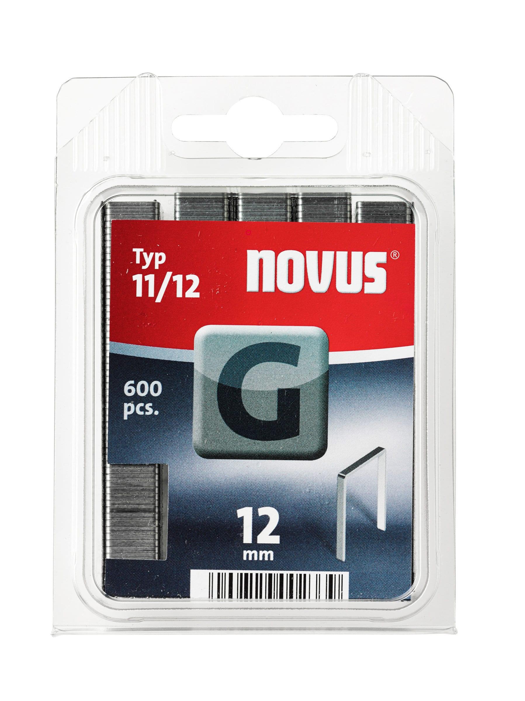 NOVUS Agrafes en fil plat G Typ 11/12