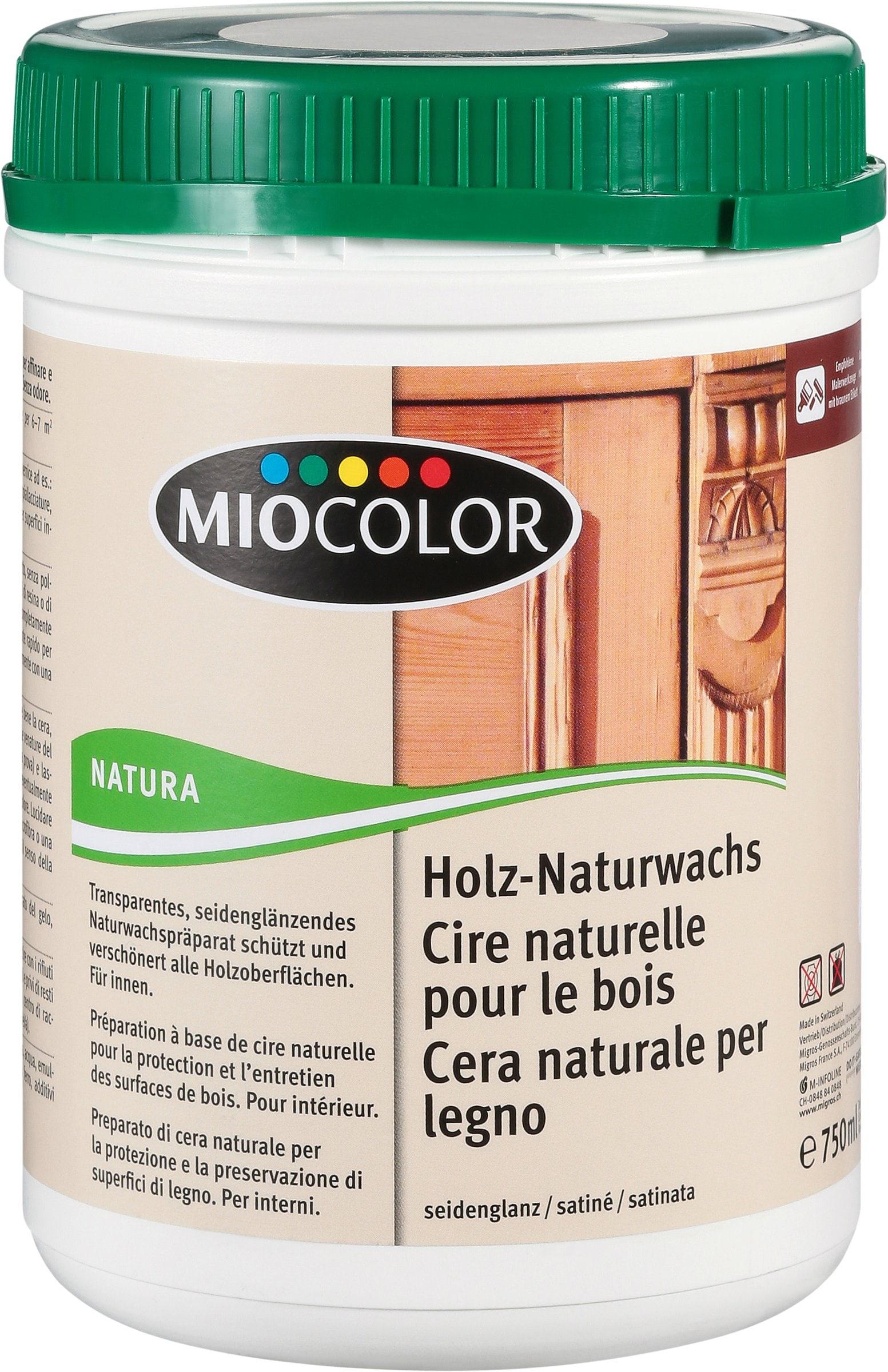 miocolor cire naturelle pour le bois migros. Black Bedroom Furniture Sets. Home Design Ideas