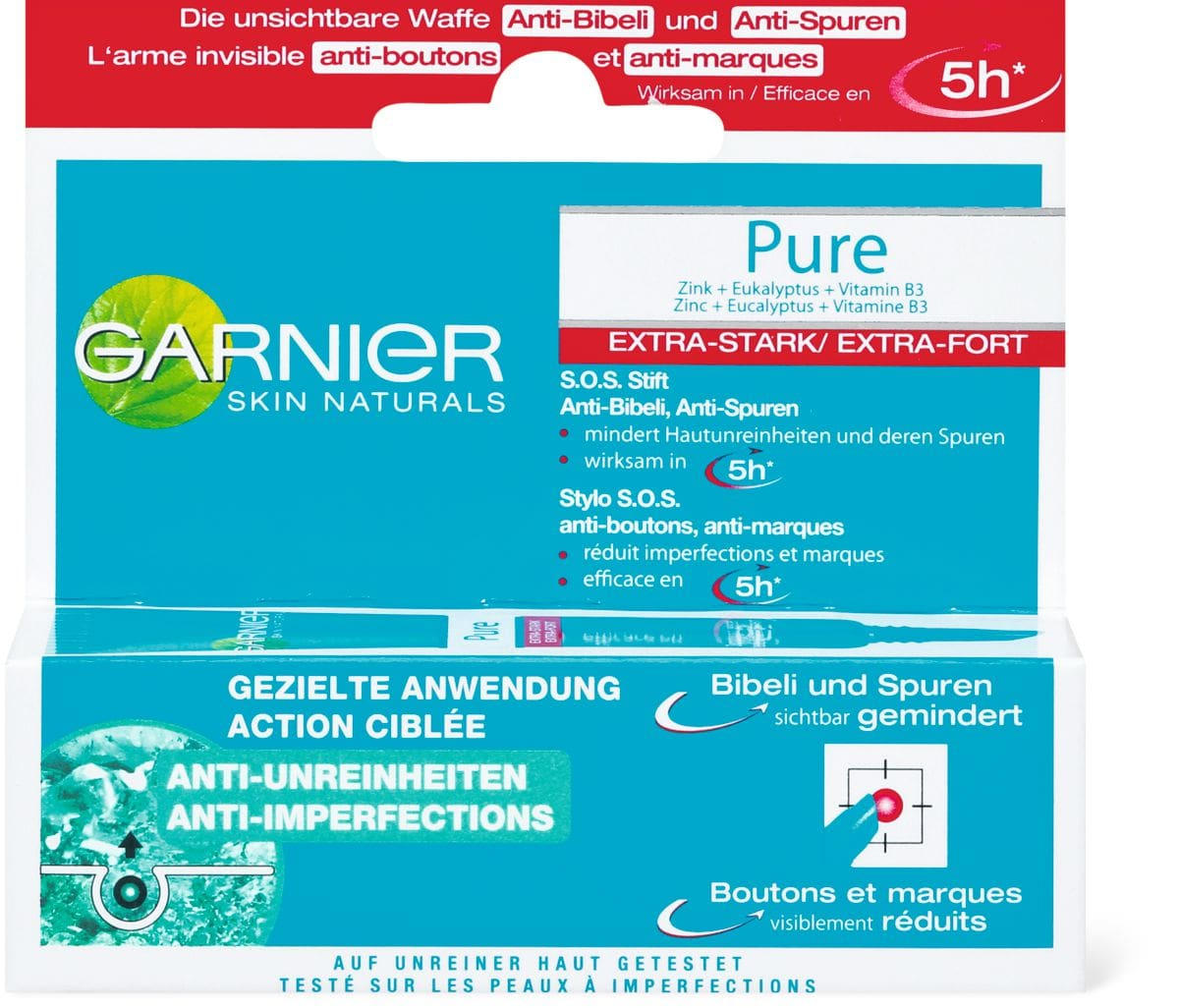 Garnier Pure Gel SOS anti-spot