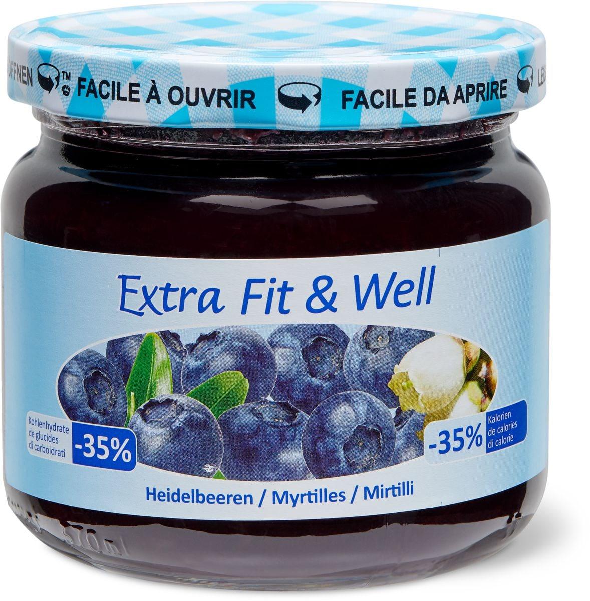 Extra Fit & Well Heidelbeere