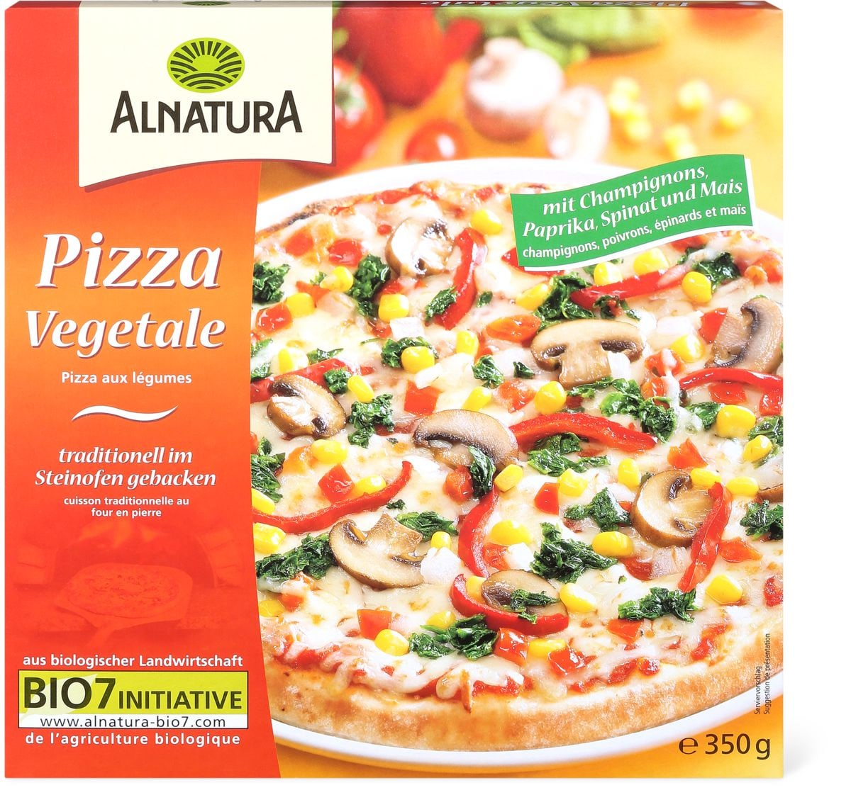 Alnatura Pizza vegetale