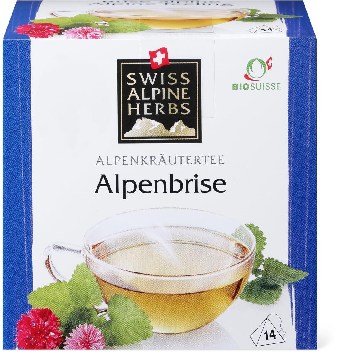 Bio Swiss Alpine Herbs brise alpes