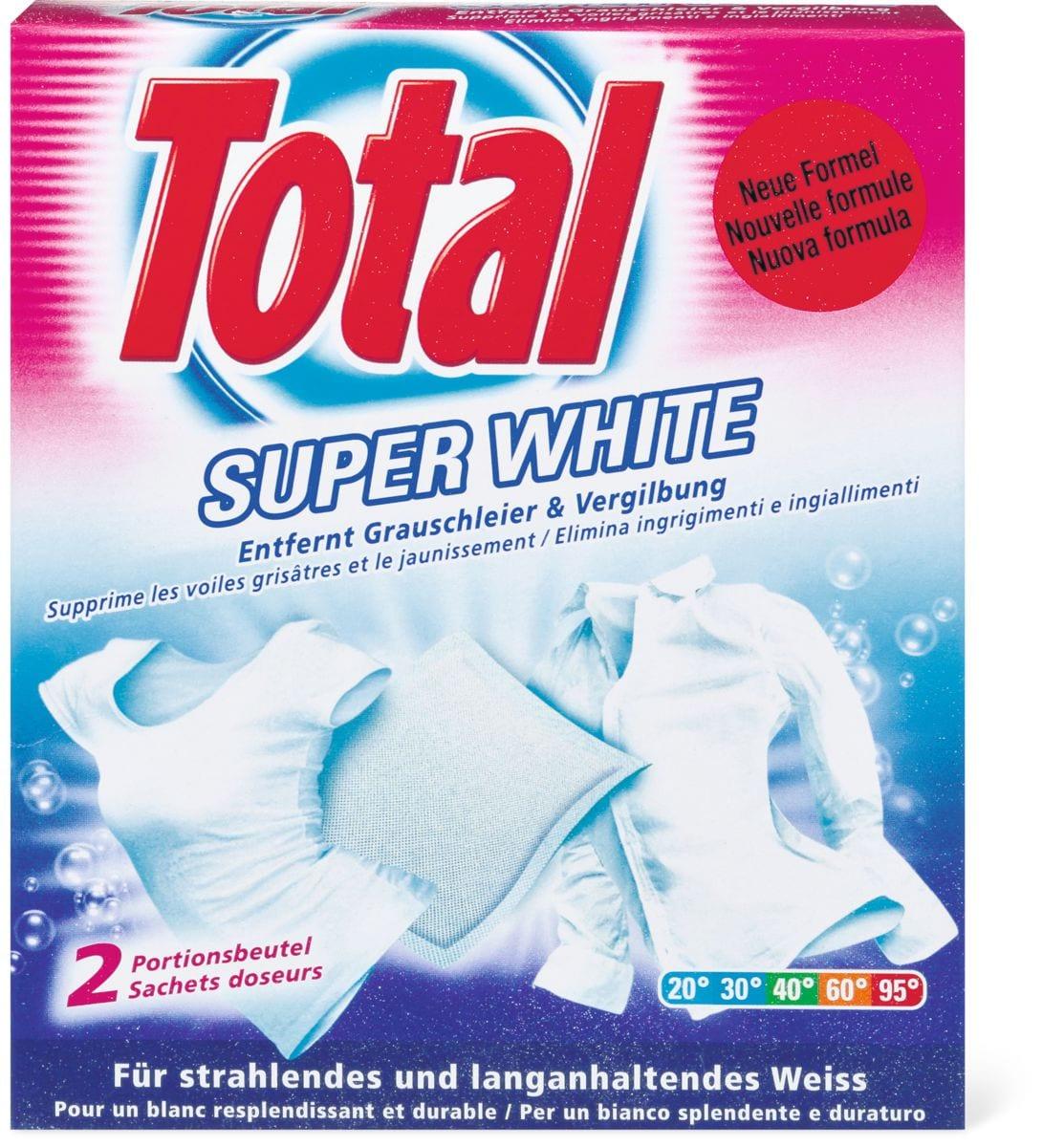 Total Super white