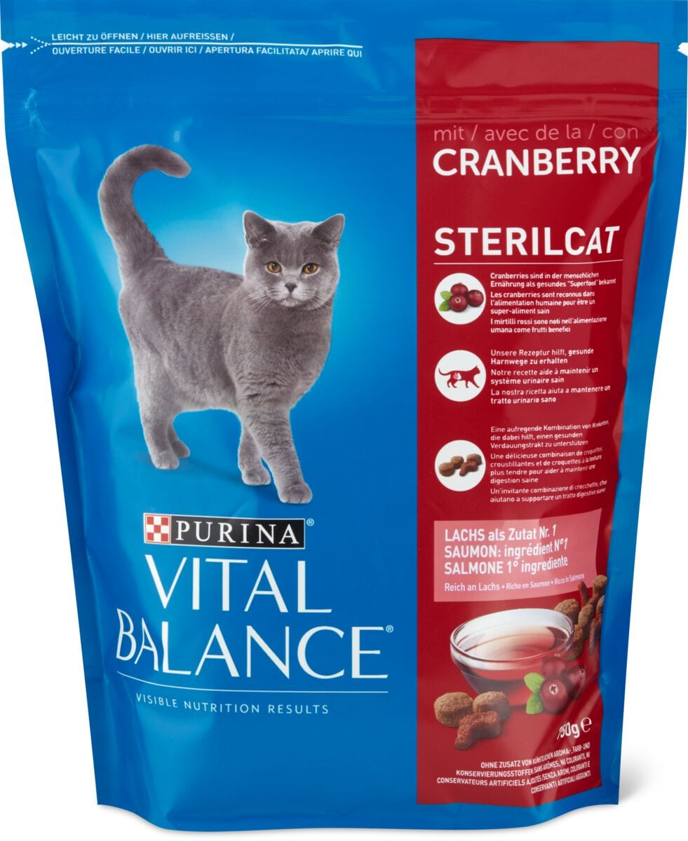 Vital Balance Steril Cranberries Lachs