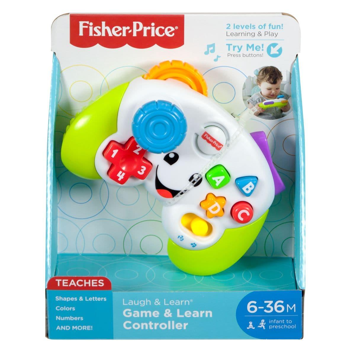 Fisher-Price FWG14 Spiel-Controller (D) Lernspiel