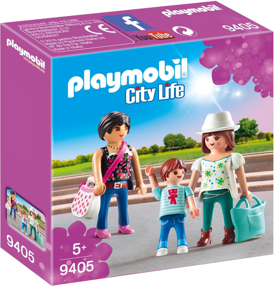 Playmobil Femmes avec enfant