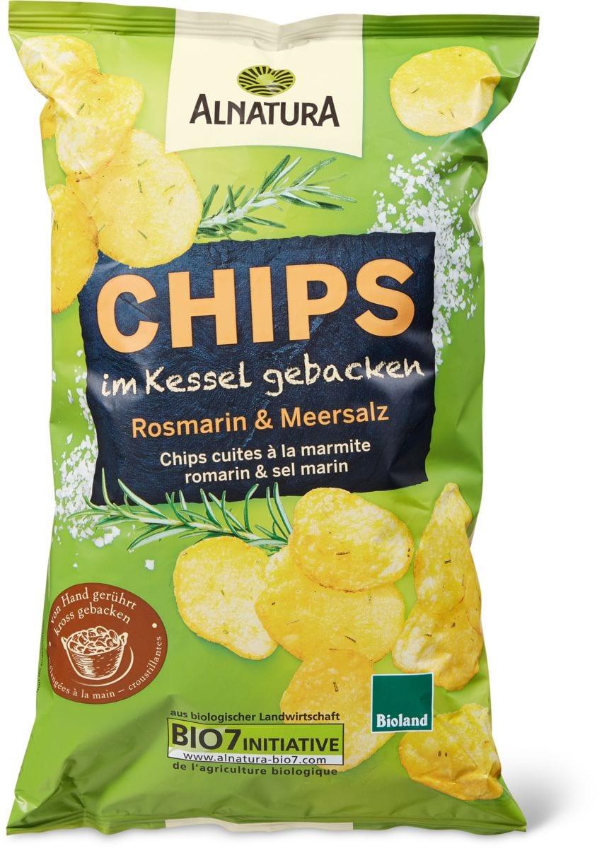 Alnatura Kessel Chips Rosmarin&Salz