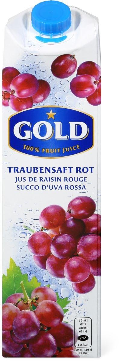 Gold Jus de raisin rouge
