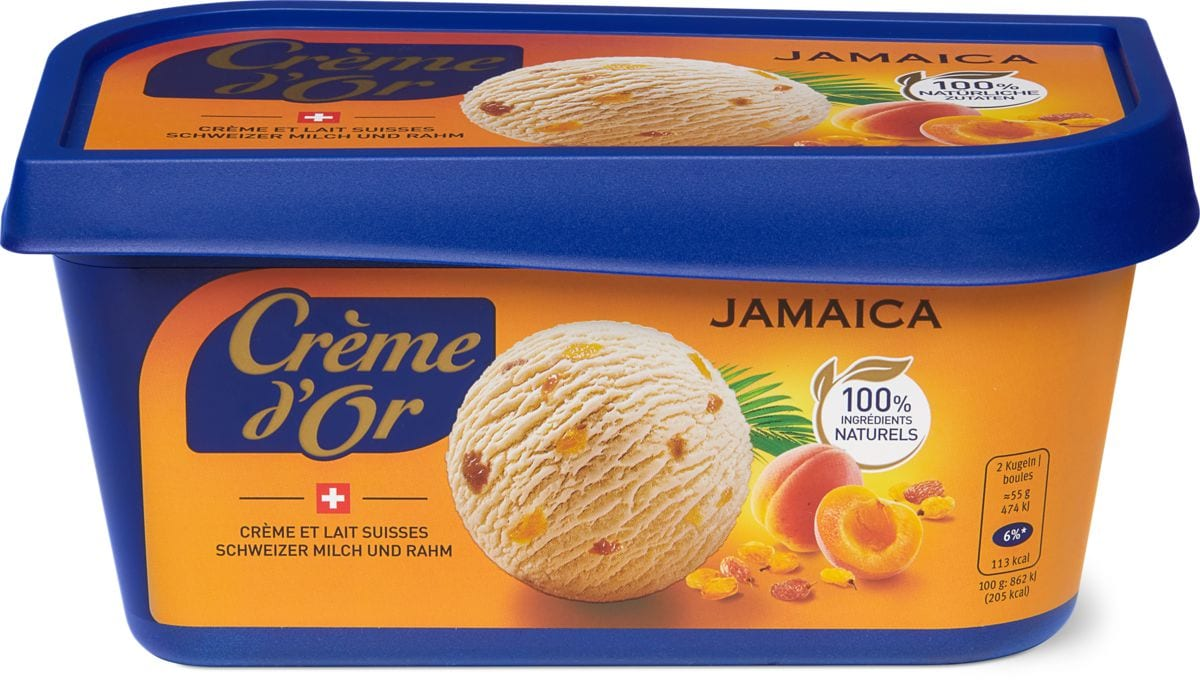Crème d'or Jamaica