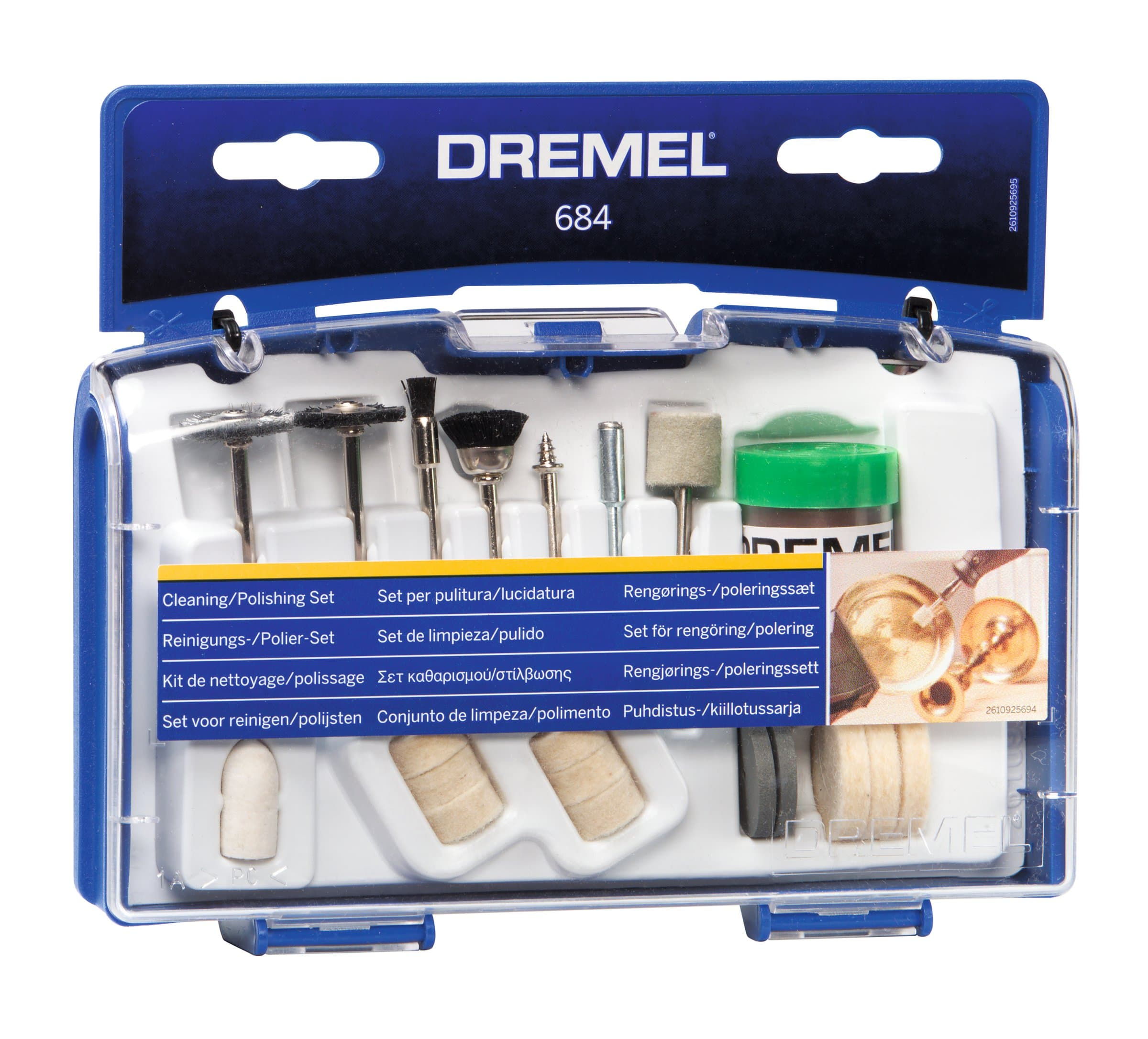 Dremel Polier-Set 20-tlg. (684)