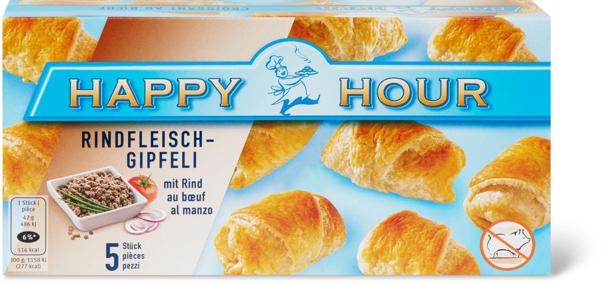 Happy Hour Rindfleischgipfeli
