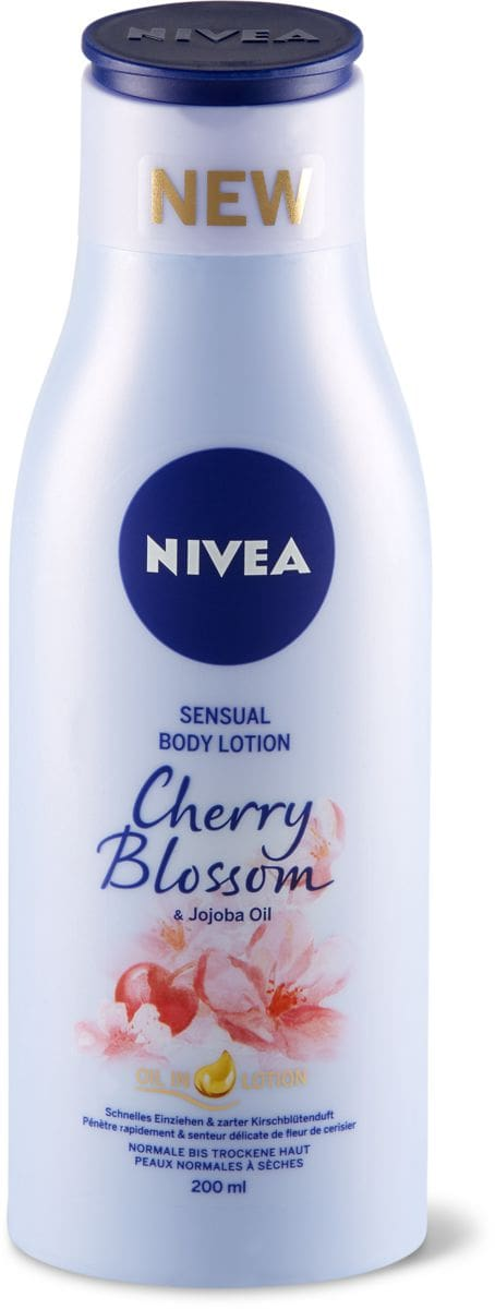 Nivea Sensual Body Lotion Cherry